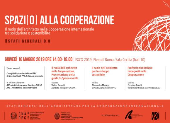 Spazi(o) alla Cooperazione – Stati generali 0.0. – Conferenza